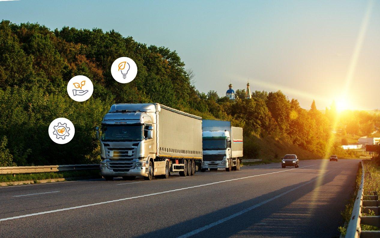 La ruta de la sustentabilidad en el transporte de carga