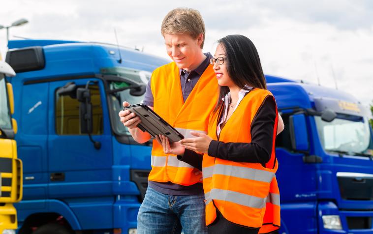 Telemetría y conducción de camiones